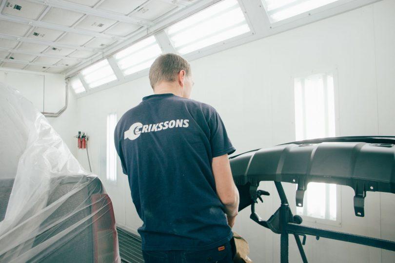 Erikssons -  Auton korjaus, hinaus ja kuljetus & metsä ja puutarha 15