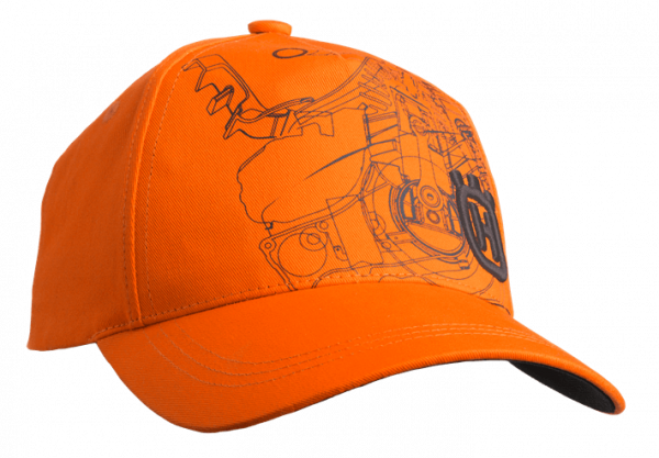 Xplorer Cap pioneer saw orange 1