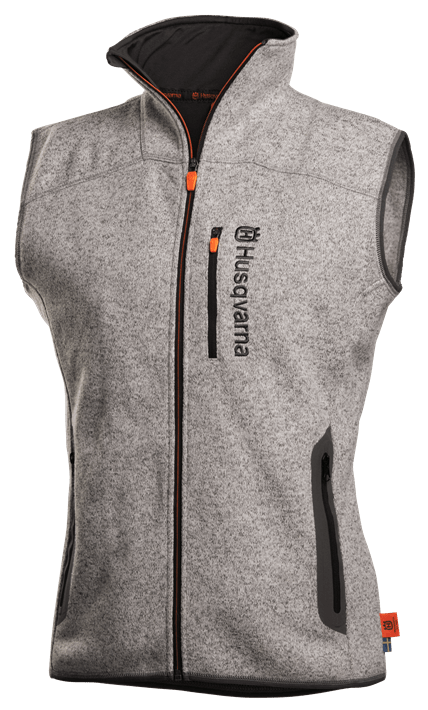 Xplorer Fleece vest women Steel grey