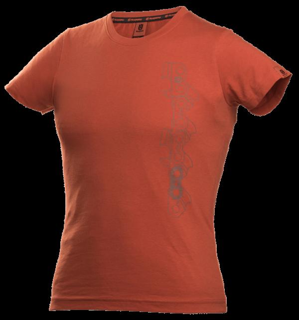 Xplorer T-shirt short sleeve women x-cut chain