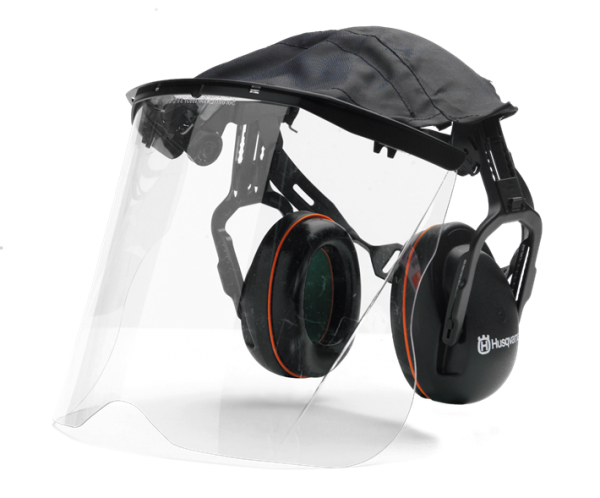 Hearing Protection with Perspex Visor & Cover